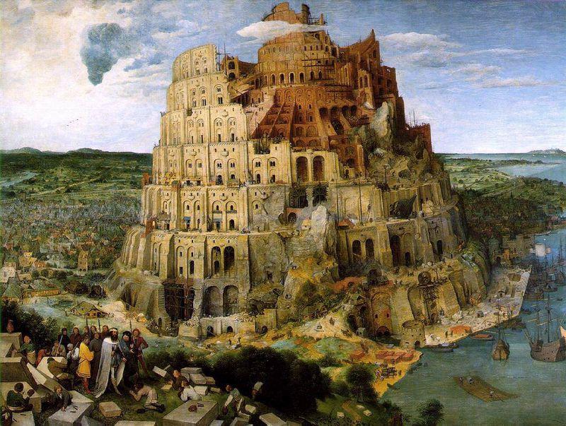 28 Brueghel Tour de Babel